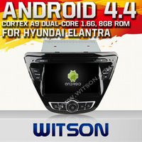 Special In-Dash DVD Player 1080p mp4 player - WITSON Inch Android Car DVD Player Cheap Built in GPS Car DVD Player for HYUNDAI ELANTRA P HD Video Hot Sale A7053