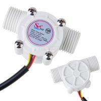 Wholesale HOT Sale Water Flow Sensor Is Water Heater Flowmeter Flow Sensor Hall Sensor DC V Ship By Swiss Post F