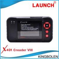 Wholesale New Arrival Launch CRP129 car code reader Original Creader update Via Internet creader viii