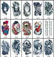 Wholesale New Design Style Body Art Painting Tattoo stickers Waterproof Temporary Tattoo Sex Product Maquiagem Metallic Tatoos