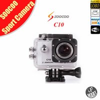 Wholesale Newest Original SOOCOO C10 WiFi Action Camera Novatek Chip P Sport Camera Wide Angle Lens Sports HD Camcorder