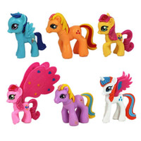 Wholesale hasbro toy my little pony figure set New My little pony ponies mini PVC toys doll cartoon pvc Action Figures Doll for girls kids gift
