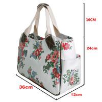 flower handbags - Luggage Bags Handbags Set Flower Day Shopper Bag Flower Long Purse Handbag Market Tote Coin Wallet
