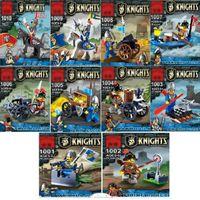 educational toys for children - 100pcs Castle Knight minifigure Building Block Set D Construction Brick Toys Educational for Children HL