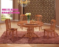 dining table - Dining chair fashion simple wood chair Creative oak dining table dining chair solid wood furniture