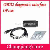 Wholesale hot sale Proffesional with PIC18F458 chip OBD2 OpCom Op Com for Opel opcom v1 free shippping
