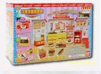 Wholesale Japan Konapun Hamburger French Fries Kid Toys Cooking Kitchen Set Kids Educational Pretend Play Kitchen Toy