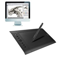 Wholesale HUION H610 Pro x inch LPI ExpressKey Signature Tablet Board with Digital Pen Suit for Window XP Vista