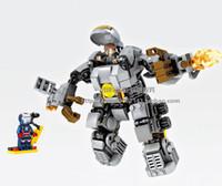 Wholesale 2016 new Iron man mecha MK1 mark The hulk mecha fancy assembled toys