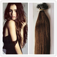 Wholesale Malaysian Remy Nano Ring Human Hair Extensions quot quot Nano Ring Hair Extensions G S G PC G in stock
