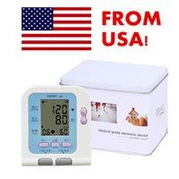 Wholesale US Seller Digital LCD Upper arm Automatic Blood Pressure Monitor Heart Beat BP monitor Careshine Health Monitors