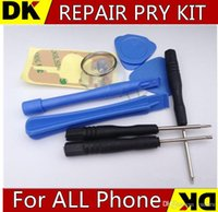 Wholesale 5 set in REPAIR PRY KIT OPENING TOOLS With Point Star Pentalobe Torx Screwdriver For APPLE IPHONE iphone G G S