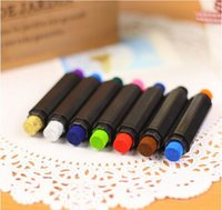 Wholesale Creative Two Colors Pen Ink Pad Stamp Pad Inkpad Set for DIY Funny Work Scrapbooking Album Finger Paint