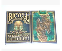 bicycle deck - ORIGINAL Bicycle Steampunk Cthulhu Deck Playing Cards Best Poker New Bicycle Playing Card Magic Card Ellusionist