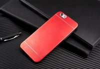 Wholesale Luxury Metal Brushed Aluminum Shell Back Case Cover For Apple iPhone or iPhone s s high quality Can be used for carving