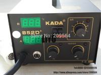 KADA 852D + aire caliente Reparación estación de la reanudación Soldadores Estaciones de soldadura de hierro