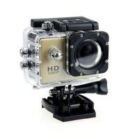Wholesale 50pcs P Sports DV SJ4000 Inch Mega Pixels Full HD Helmet Camera Camcorder HDMI H Car DVR meters underwater colors