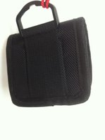 Wholesale 18650 li ion battery bag vapor battery pouch Customized cylinderical battery holster nylon material black color in stock