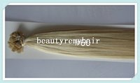 Cheap Beautyremyhair prebonded hair extensions flat tip hair extension remy human hair extension in stock