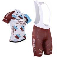 Cheap Tour De France 2016 Ag2r cycling jersey bib None Bib shorts Brown cycling Bike Wear Quick Dry Road Cycling Jersey Size XS-4XL