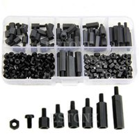Wholesale M3 Nylon Black Hex M F Spacers Screws Nuts Assorted Kit Standoff order lt no track