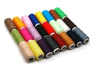 Wholesale 24 Spools All Purpose Polyester Sewing Quilting Threads Assorted Colors Sets z281