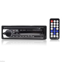 Wholesale JSD V Car Audio Stereo FM Receiver Bluetooth MP3 Player Car Kit Handsfree Cell Phone Charging w In Dash DIN USB SD MMC Port