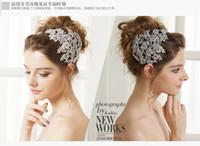 Wholesale Unique Design Wedding Hair Fully Crystal Spakling Bridal Headwear For Women Wedding Dress Top Quality Bridal Accessories IN Stock LN