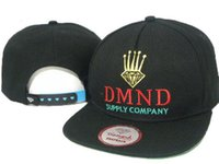 baseball companies - DMND supply company logo baseball caps for men women casual adjsutable hiphop bones female gorras snap back hats hombre