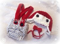 aviator cover - Crochet Aviator Hat amp Diaper cover Bow Tie Set Newborn Crochet Photo Prop Baby Clothes Christmas photos