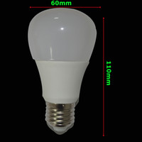 aluminum angle - 5PCS Brightness Lm W Led Bulbs White plastic Aluminum Light Angle cool white warm white Led Dimmable bulb AC110 V CRI Ra