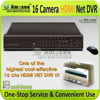 ams support - 16 Camera H HDMI Professional grade Internet support iPhone Android surveillance CCTV DVR AMS H936V