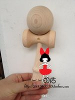 beech logs - 100pcs beech Log paint piece Kendama Ball Japanese Tradid Game Kids DIY logo