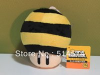 Wholesale 10pcs New Super Mario Bros Bee Mushroom Plush Figure quot