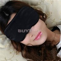 Wholesale 2016 New House Keeping Black Eye Masks Anti Light Nap Cover Popualr Sleeping Eye Mask