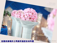 Wholesale 13 colors cm inch Wedding Decorations Silk Kissing Pomander rose Flowers Balls Wedding bouquet