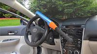 Wholesale Medium automobile anti theft locks a bag anti theft lock self defense baseball Steering wheel lock Car Safety Products