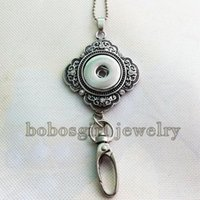 button badge - NT998 newest snap button Badges pendant Necklace fit mm mm snaps