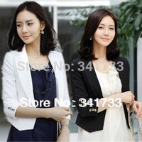 Cheap new sale summer three quarter sleeve jackets Women's tailored suit fashion short suit ol short coat formal attire S ~ XL tY