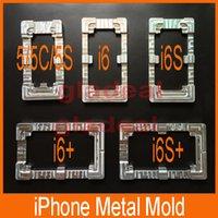 aluminium alloy mold - Quality Aluminium Alloy Metal Mold for iPhone5 S C plus S S plus LCD Touch Screen Separator Repair Refubish Machine Tool