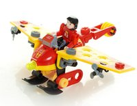 plastic model kits - 2014 HOTTEST Latest Educational toy DIY plastic building block glider model model building kits