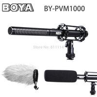 Wholesale Professional Video Broadcast Unidirectional Condenser Interview Microphone Kit for Canon Nikon Sony DSLR Cameras Camcorder