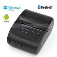 Wholesale Bluetooth Wireless Portable POS Thermal Dot Receipt Printer for Android WP