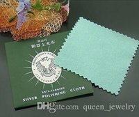 Wholesale mm mm silver cloth silver cleaning cloth jewelry fashion jewelry clean