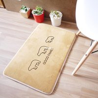 bathroom series - 10pcs rugs carpet Original design Korean small fresh soft home design Cubs series mats doormat
