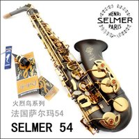 Wholesale New High quality Salma alto saxophone e musical instrument matt flamingly saxe selmer alto saxophone
