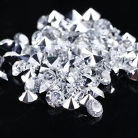 Wholesale Wedding Decorations Party Decoration Scatter Table Clear Crystals Diamonds Beads Acrylic Confetti