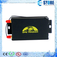 Wholesale Brand Coban Fuel Sensor Real Time Car Vehicle Motorcycle GSM GPS Tracker TK105A Support Camera Temperature