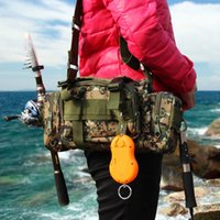 Wholesale Multifunction fishing lures package package mountaineering bags outdoor camouflage bag outdoor sports package