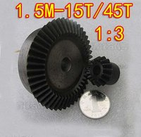 Wholesale 1 M T T Umbrella gear steel surface hardening bevel gear Dimaeter mm